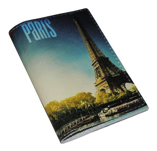 Обложка для паспорта -Небо над парижем-