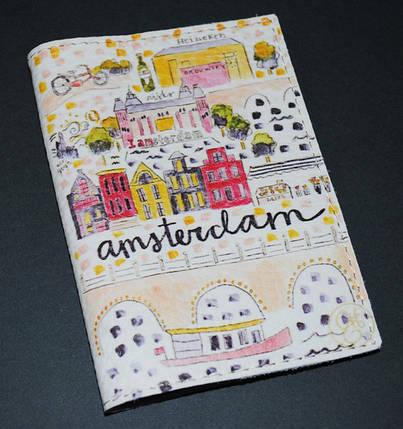 Обложка для паспорта -Amsterdam-, фото 2