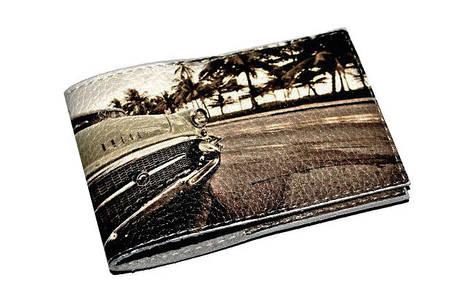Обложка для водительских прав, Документов, Автоправ, с принтом -Бьюик- Натуральная замша, кожа/ Обкладинка для, фото 2