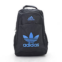 Рюкзак №3 черный (синие буквы)