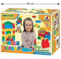 Конструктор большой Wader Middle blocks, фото 1