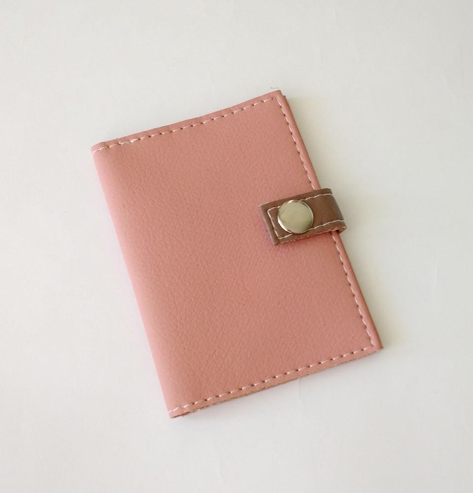 Чехол для ID паспорта -Just Pink-