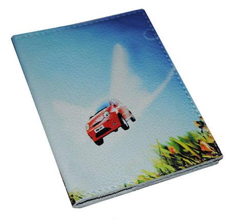 Обложка для водительских прав, Документов, Автодокументов, с принтом -QQ- кожа/ Обкладинка для Автоправ, фото 2