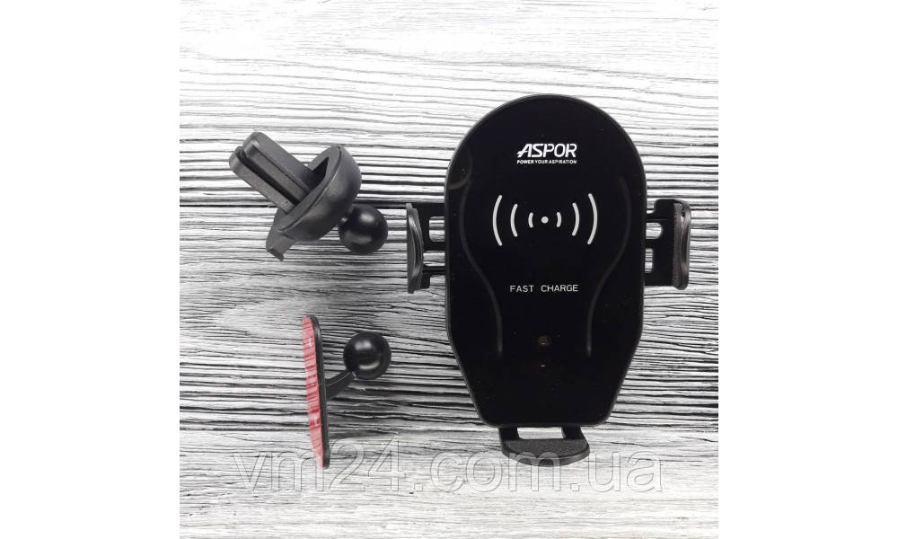 Универсальный Wireless Charge холдер Aspor X8 Video, 5V/2A