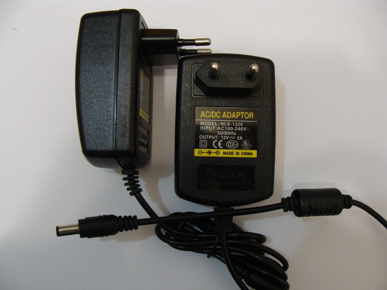 12V 2A зарядка адаптер Блок живлення штекер 5,5х2,5 мм для Liitokala lii-500