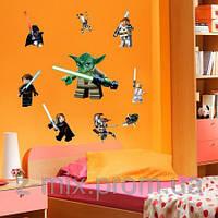 Виниловая наклейка на стену star wars детскую комнату