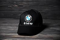 Кепка Бейсболка BMW летняя шестиклинка стильная черная