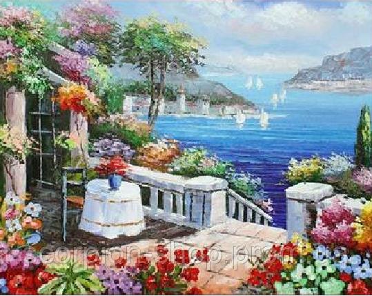 Картина по номерам «Средиземное море» (40*30 см)