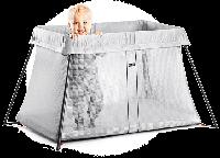 BABYBJÖRN Складной Mанеж-кровать Light, серебристого  цвета