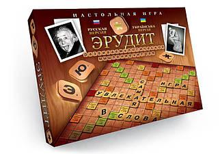 Игра настольная Danko Toys Эрудит (Рус, Укр) (DT G4-UA)