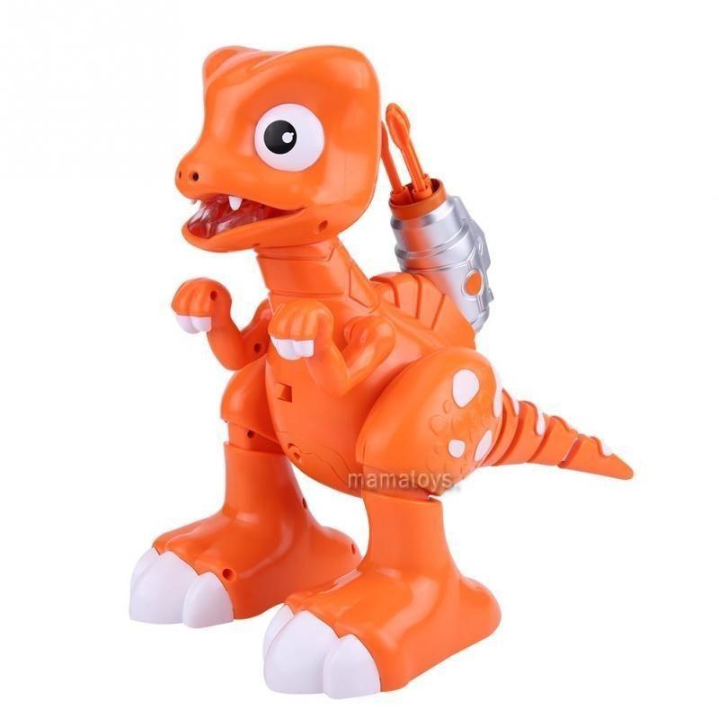 Динозавр FK603A ,муз,свет,ходит стреляет пулями, дым, на батарейке