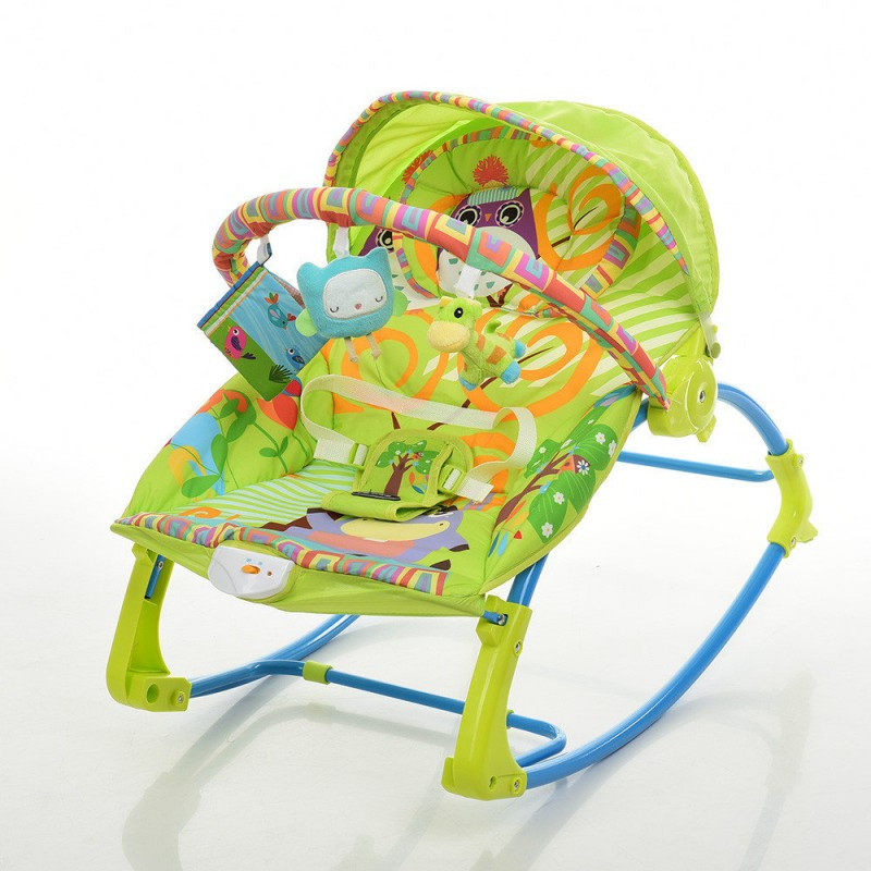 Шезлонг-качалка детский PK-306-4