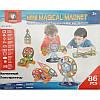 Магнитный конструктор Mini Magical Magnet M086 86 деталей, фото 3