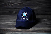 Кепка Бейсболка BMW летняя шестиклинка стильная синяя, фото 1