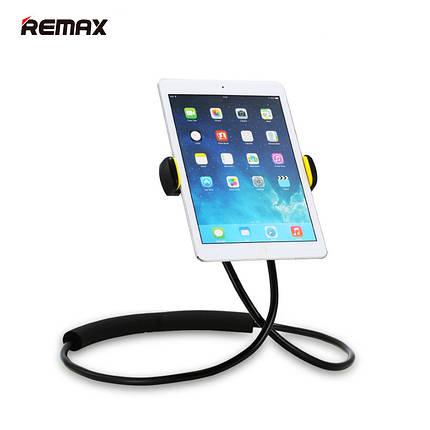 Держатель для телефона/планшета Remax Lazy Phone Holder RM-C27 (Черный), фото 2