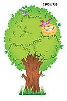 """Декорация для утренников """"Дерево с гнездом"""""""