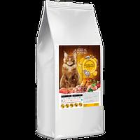 Home Food (Хоум Фуд) корм для кошек крупных пород с индейкой и креветками, 10 кг
