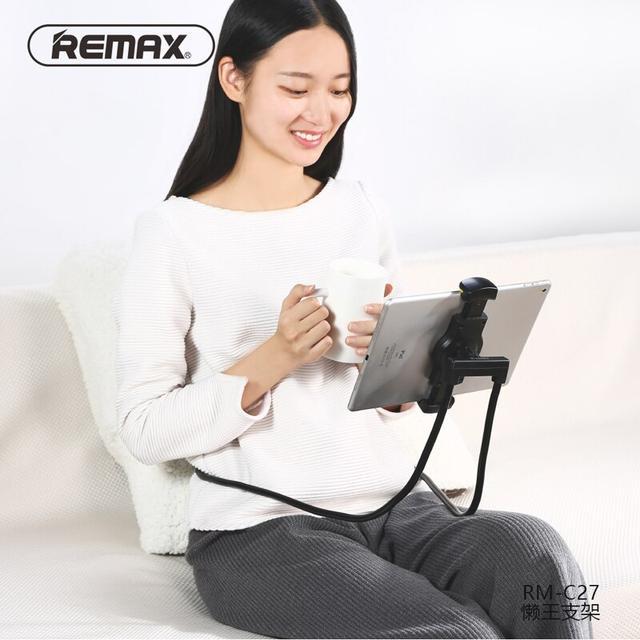 Держатель для телефона/планшета Remax Lazy Phone Holder RM-C27 Черный