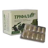 «Трифала Форте» –  аюрведические капсулы при расстройствах пищеварительной системы (запоры, дисбактериоз)