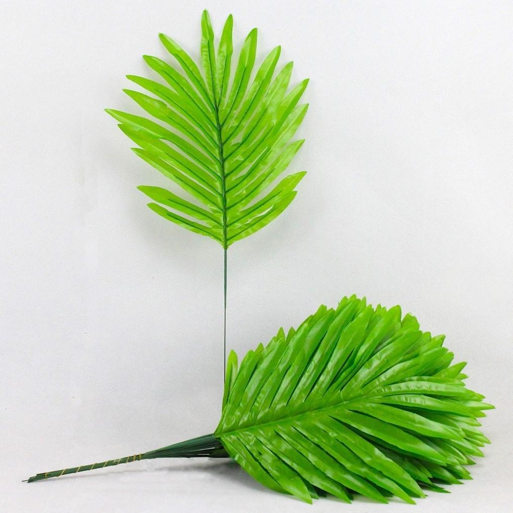 Лист пальмы зеленой  (20 шт. в уп)