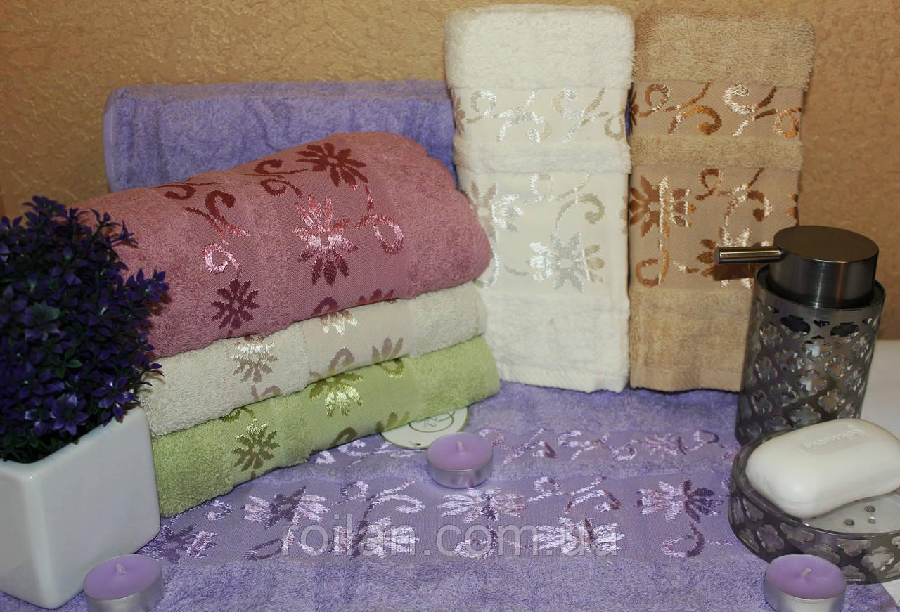 Банныетурецкие полотенца Luzz Ромашка
