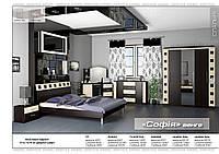 Спальня Софія 1Дз/2Дз - венге світле-темне