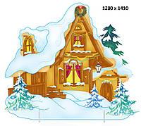 Декорація ☆ Зимовий Теремок ☆ Новий Рік