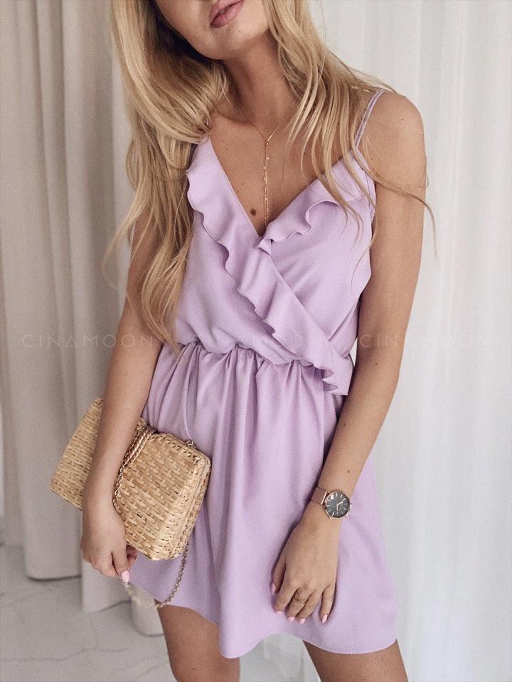 a8a028e9630f Купить Женское нежное платье с рюшами от надежного поставщика