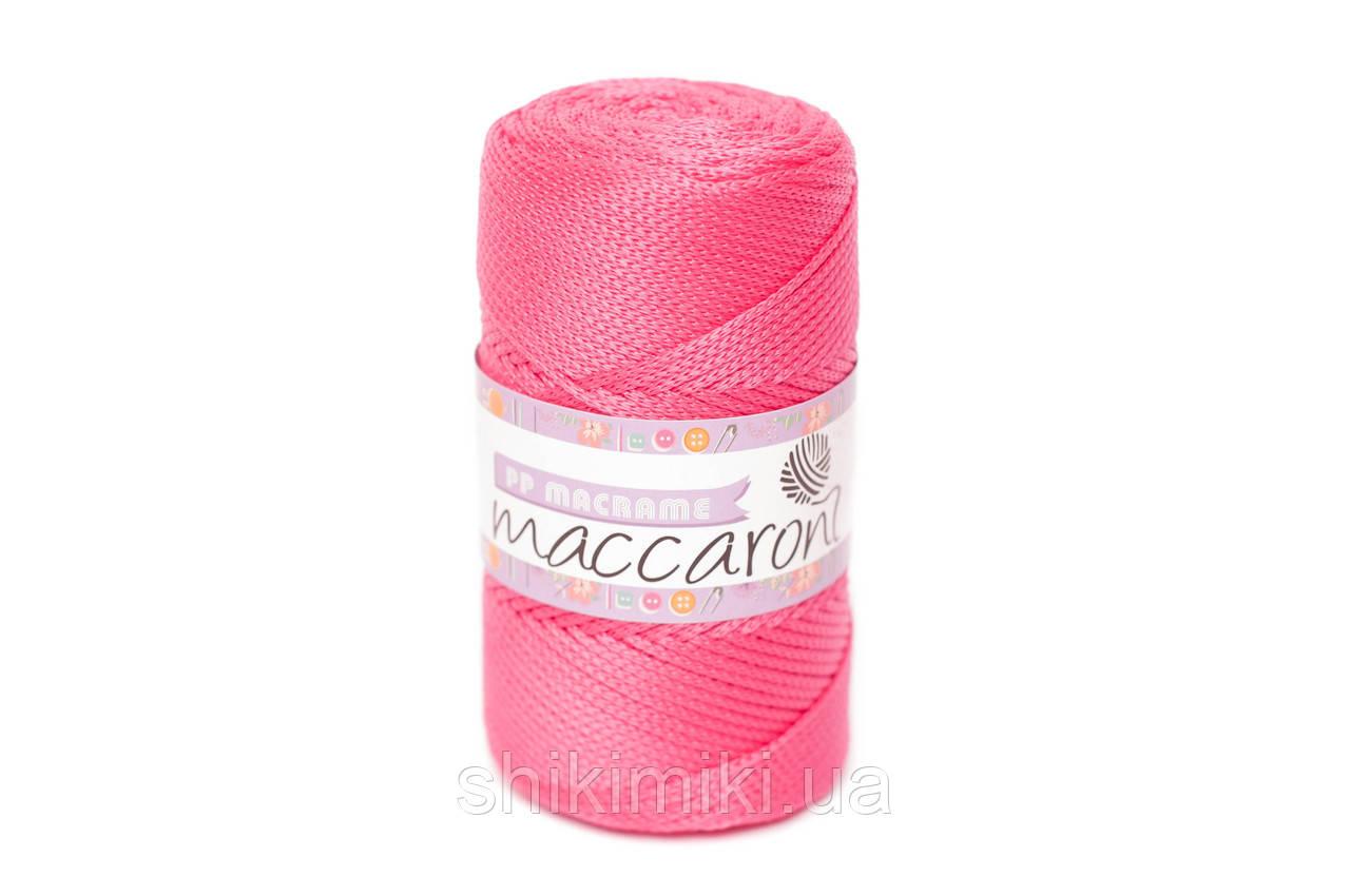 Трикотажный полипропиленовый шнур PP Macrame, цвет Малиновый
