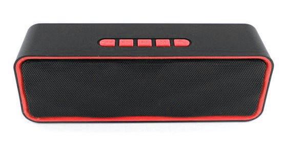 Портативная Bluetooth колонка SPS 211 BT, красная