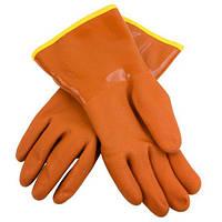 Водоотталкивающие перчатки Bellingham  прорезиненные, утепленные зимние размер L, фото 1