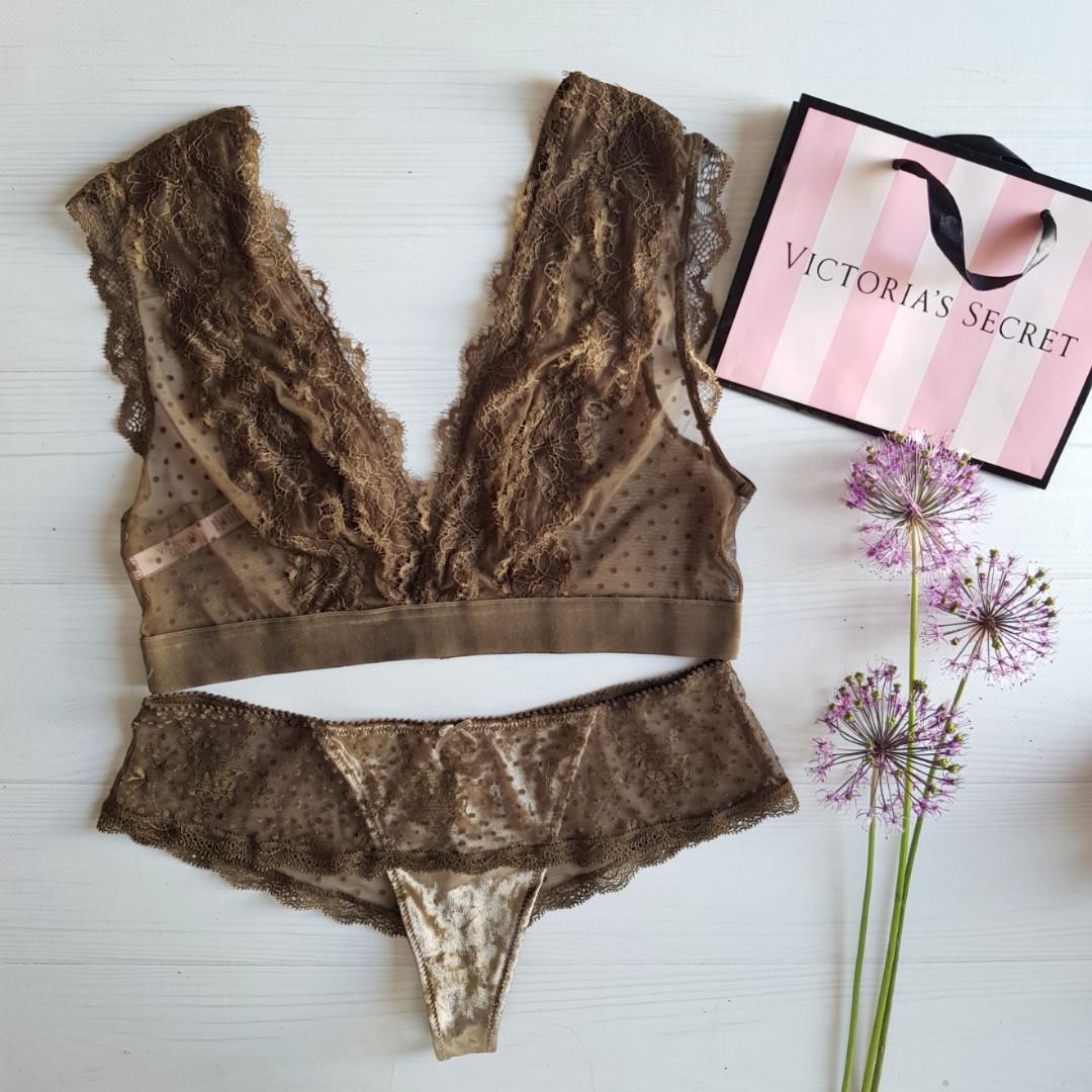 fb2fc7da860b7 Комплект белья (бралетт+трусики) Victoria's Secret! Размер - M/S ...