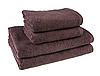 """Полотенце (50х90 см) шоколадное махровое """"Отель"""" для лица и рук"""