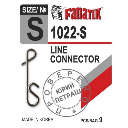 Застёжка безузловая Fanatik 1022-S № S (9 шт.)
