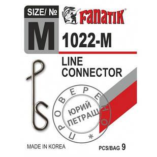 Застёжка безузловая Fanatik 1022-M № М (9 шт.)