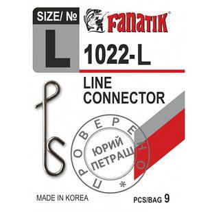 Застёжка безузловая Fanatik 1022-L № L (9 шт.)
