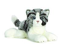 Котенок серый полосатый Webkinz Smaller Signature Grey Tabby Cat