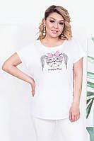 Женская футболка Прикольная собака 0218
