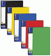 Папка пластиковая Economix A4 40 файлов 30604