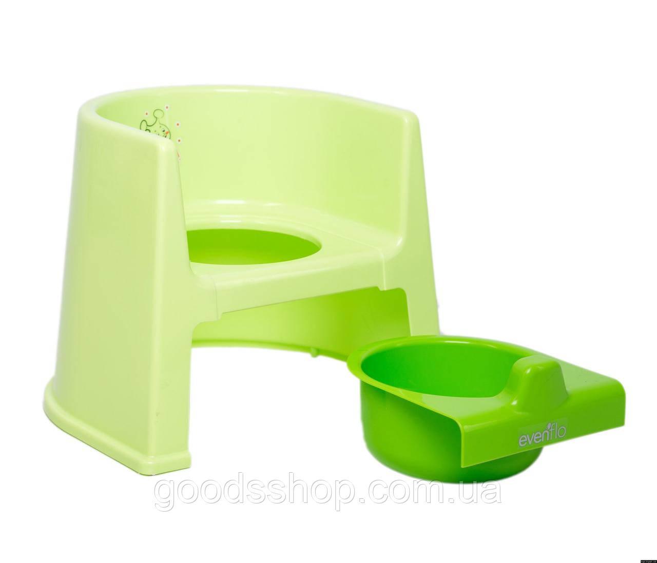 Горшок детский Evenflo® Potty - зеленый