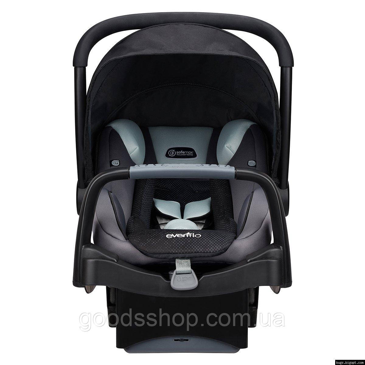 Evenflo® автокресло SafeMax Infant Car Seat цвет - Shiloh (группа от 1,8 до 15,8 кг)