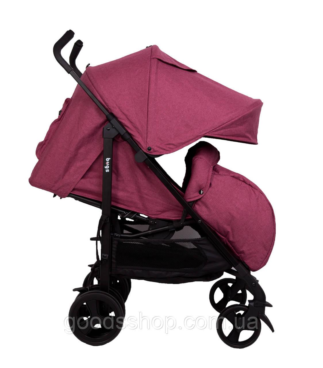 Прогулочная коляска Bugs® Witty - розовый