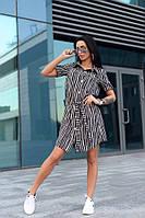 Соблазнительное платье-рубашка с поясом, фото 1