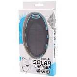 Зарядное устройство Magic Mirror Shaped Waterproof Solar Power Bank 5000mAh. Синий, фото 5