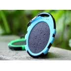 Зарядное устройство Magic Mirror Shaped Waterproof Solar Power Bank 5000mAh. Синий