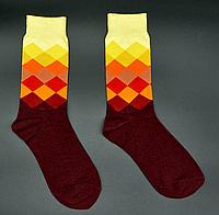 Крутые мужские носки Английский стиль №3 Hot Sox, фото 1