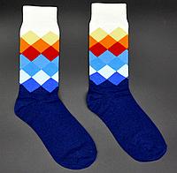 Крутые мужские носки Английский стиль №4 Hot Sox, фото 1