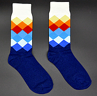 Крутые мужские носки Английский стиль №4 Hot Sox