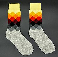 Крутые мужские носки Английский стиль №5 Hot Sox