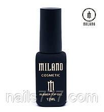 Каучуковое финишное покрытие для гель лака Milano 12ml